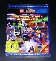 LEGO GERCHTIGKEITSLIGA VS. BIZZARO LIGA BLU RAY SCHNELLER VERSAND NEU & OVP