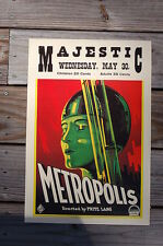Metropolis Lobby Card Movie Poster Dirested By Fritz Lang