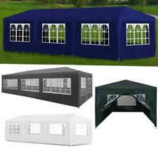 10'x20' 10'x30' Outdoor Gazebo Canopy Wedding Tent Party Tent with Side Walls