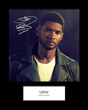 USHER #3 Signed Photo Print 10x8 Mounted Photo Print - FREE DELIVERY