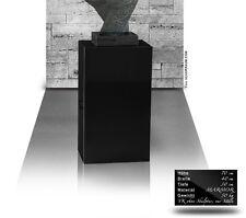 Marmor Galeriesockel, Skulpturen Museum Podest, Dekosockel, Marmor Säule Ständer