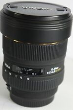 Sigma EX DG  HSM 12-24mm f/4.5-5.6 Lens For CANON EOS DIGITAL SLR 5D 1DX 1DS 1D