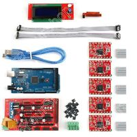 3D Printer Kit RAMPS 1.4+Mega2560+A4988+2004 LCD Controller For Arduino Reprap B
