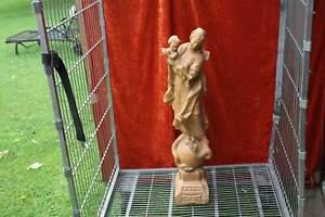 Heiligen Figur Holz geschnitzt 100cm aus Nachlaß Nr.1