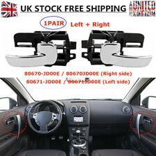 Left + Right Front/Rear Interior Inner Door Handle For NISSAN QASHQAI 80671JD00E