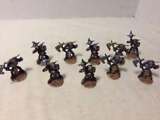 10 Painted Minotaur Miniatures Ral Partha Grenadier Dungeons & Dragons 1980s