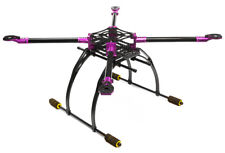INTEGY RC C25864PURPLE Custom Carbon Fiber Quadcopter Upgrade Frame 550 Foldable