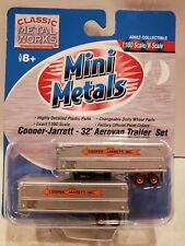 MINI METALS 1:160 N SCALE COOPER-JARRETT - 32' AEROVAN TRAILER SET. #51106