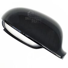 VW GOLF MK5 METALLIC BLACK RIGHT DRIVERS DOOR WING MIRROR CASE COVER CAP HOUSING