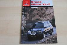 97415) Suzuki Grand Vitara XL-7 - Zubehör - Prospekt 02/2003