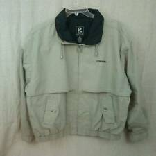 Gear for Sports Khaki Black Cotton Blend Jacket Corning Monogram Mens Large