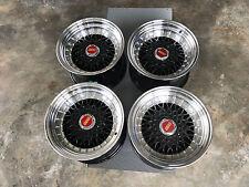 "JDM RS Style 15"" pcd114.3 pcd100x4 wheels ae86 datsun Z31 miata mx5 eg6 bbs lm"