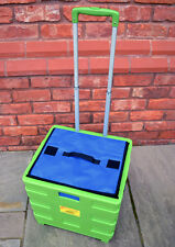 Green Portátil Camping Viaje folable 40kg Caja Trolley Bolsa Nevera Picnic Con
