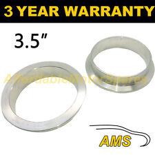"""V-BAND clamp in acciaio inox tubo di scarico Turbo Flange di ricambio 3.5"""" 89mm"""