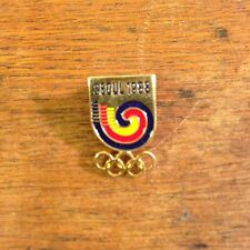 Vintage Collectible Officially license Seoul Korea 1988 Olympics Pin