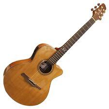 Guvnor Electro Acoustic Guitar Folk Style Cutaway GA705CE Solid Cedar Top Z-00
