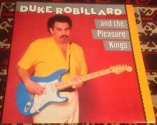DUKE ROBILLARD AND THE PLEASURE KINGS self titled 1983 UK DEMON VINYL LP