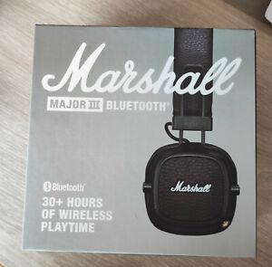 Casque Audio Marshall Major III - bluethooth - NEUF