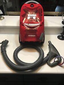 Kenmore 116 Progressive True Hepa Canister Vacuum Cleaner, 12 Amps Burgandy Red