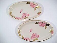LENOX Royal Blossom Collection Floral Plate - Relish/Trinket - SET OF 2