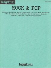 Partition piano facile voix guitare - Rock & Pop - Budgetbooks