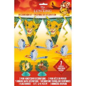 Disney The Lion King 7 Piece Birthday Party Decorating Kit