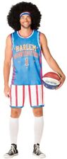 Harlem Globetrotters Mens Uniform Costume Adult Basketball Jersey Halloween