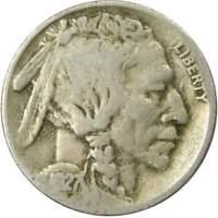 1927 S 5c Indian Head Buffalo Nickel US Coin Average Circulated