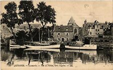 CPA  Quimper - Locmaria - Vue de l'Odet, vers l'Église    (457396)