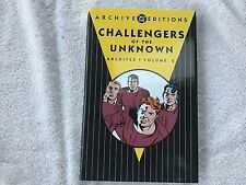 """Archive Editions - """"Challengers of the Known"""". Vol.2 1st Printing 2004. MINT"""