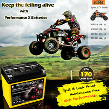 12v AGM Scooter Battery Ytz10s Upgrades Ytx9-bs DAELIM Honda KYMCO Suzuki SYM