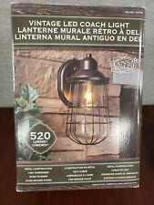 New Open Box- Manor House Vintage LED Coach Patio/Porch Light 1015194 #NO7669