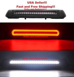 SMOKED LENS LED HIGH MOUNT 3rd BRAKE REVERSE LIGHT LAMP For 2004-2008 Ford F150
