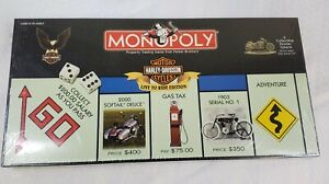 Harley Davidson Live to Ride Collectors Edition 2000 Monopoly New sealed box