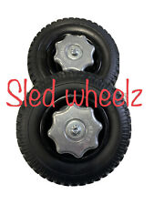 Sled Wheelz Snowmobile Sled Wheels Dolly Sled Mover New 2021 Product!
