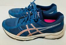 Asics Gel-Contend 4 T765N Azure Frosted Rose Running Shoes Women's Sz 9.5 EUC