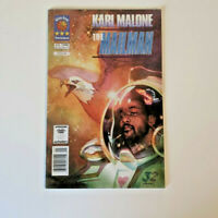 VERY RARE Karl Malone The MAILMAN # 1 Comic Book, Utah Jazz, NBA Sienkiewicz Art