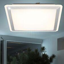 LED 15W Design Decken Leuchte Spot silber quadratisch Wohn Ess Schlaf Zimmer