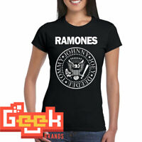 Ramones tshirt - PUNK ROCK WOMENS T SHIRT S-M-L up to 3XL