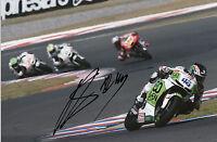 Scott Redding Hand Signed GO&FUN Honda Gresini 12x8 Photo 2014 MotoGP.