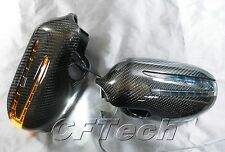 Mercedes Benz R171 SLK-Class 05-08 3K CARBON FIBER Arrow LED Side Mirror Cover