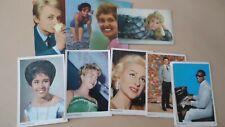 Images MONTY Maple Leaf MOVIE MUSIC gum cards 60's 9X plaatjes