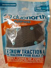 Due North Ice Traction All Purpose Snow Tract Footwear Aids, Large, Snow & Ice