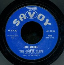 45tk-Black Gospel-SAVOY 4098-The Gospel Clefs