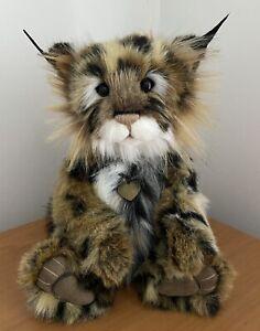 Charlie Bear Plush Mischief Maker As New