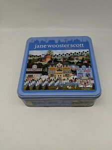 Jane Wooster Scott 1000 Pc Puzzle in Tin Box Celebration of America complete