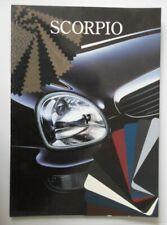 FORD SCORPIO orig 1994 Spanish Mkt Colour Chart Brochure - Ghia
