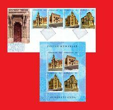 Full Sheet & FDC 2019 Polish Architects in Azerbaijan. Azerbaijan stamps.
