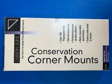 "Larson Juhl Conservation Corner Mounts, 1 1/4"", box of 250, maxi-vision"