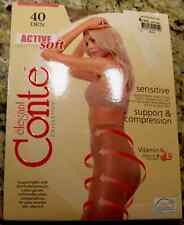 CONTE Shaping Tights Pantyhose Sentive Skin Extra Strong Color Natural Size XXL6